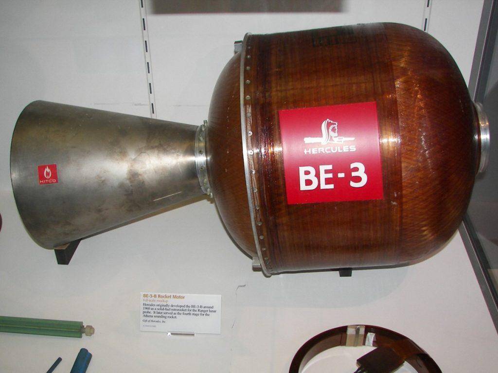 Alcyone IA BE3-A9 Engine