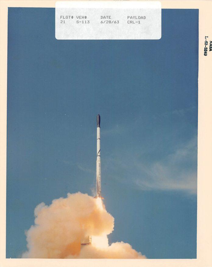Scout S-113 Launch 1963 (NASA)