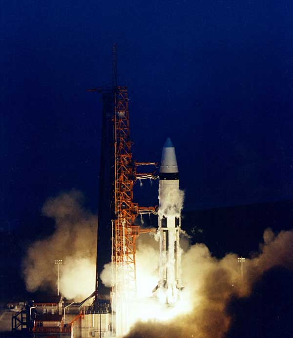 AS-204 - Apollo 5 Launch [ST2]
