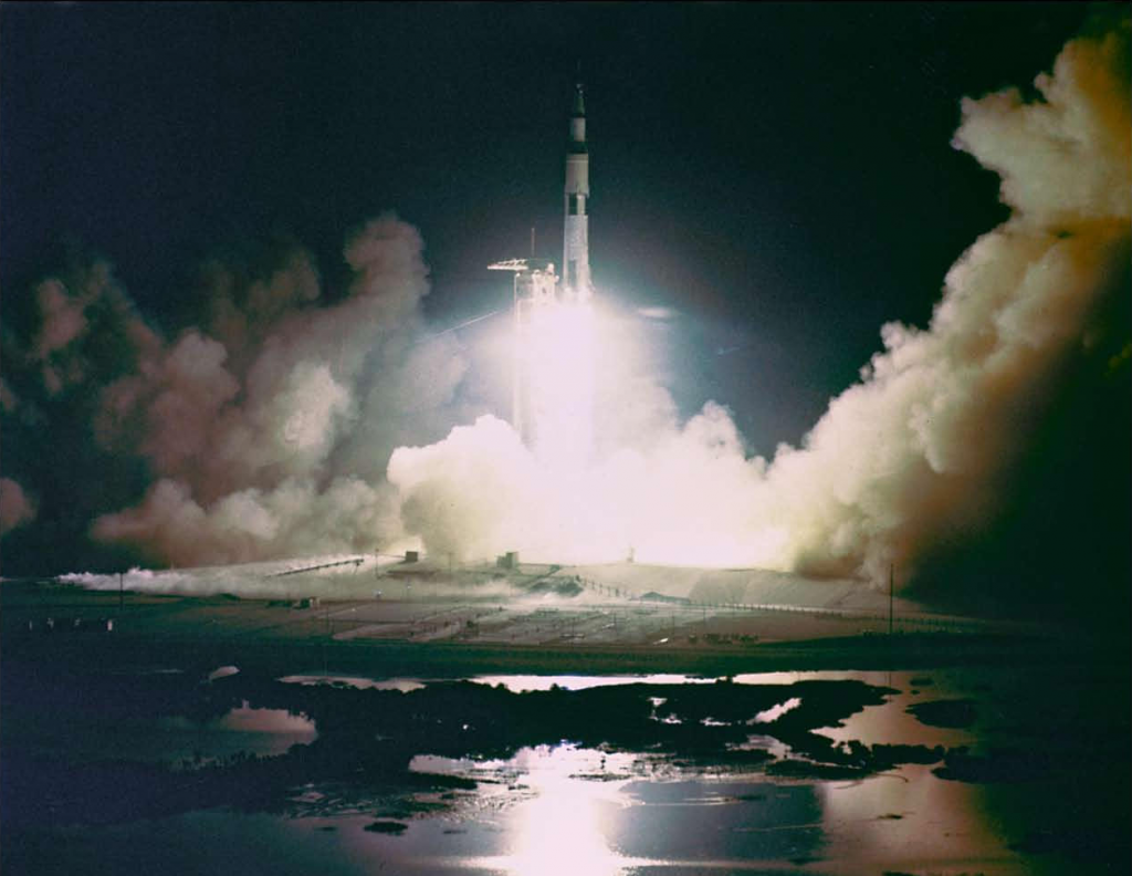 Apollo 17 Liftoff [ST3]