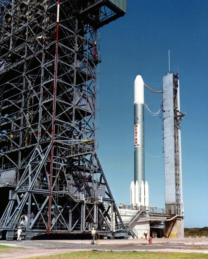 Delta 2914 with the Westar Satellite