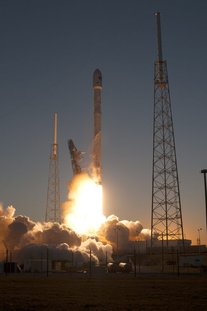 Falcon 9 v1.1 Launch of DSCOVR (Wikimedia)