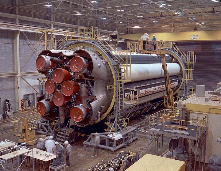 Saturn I Vehicle Booster During Checkout [ST2]