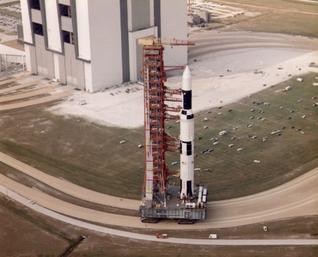 Saturn V Skylab on the Crawler